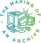Logo for the Making of an Archive (2014–ongoing), a project initiated by Canadian artist Jacqueline Hoàng Nguyễn.